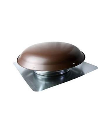 TPI Power Attic Mount Dome Ventilator, Brown TPIPDV3051MBBRG