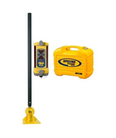 Spectra LR30W Wireless Laser Receiver With RD20 Remote Display, DM-20 Dozer Mount, and NiMH Batteries SPELR30W-DM