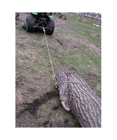 Timber Tuff Heavy-Duty Log Choker Cable w/ Tow Rings & Stake (10-Pack) TTTTMW-48