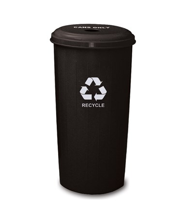 Witt Industries Wastebasket Recycling Bin WIT10/1DTBK-