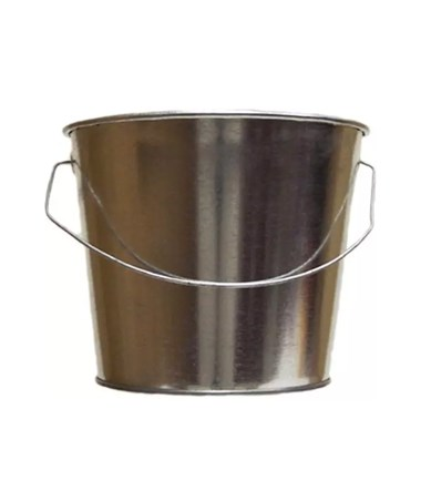 5 qt Galvanized Steel Pail