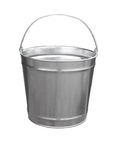 12 qt Galvanized Steel Pail
