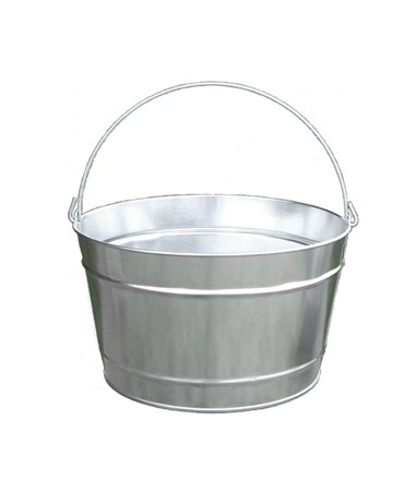 16 qt Galvanized Steel Pail