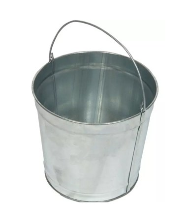 Witt Industries Galvanized Steel Pail WITW2QTG-