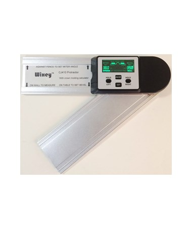 Wixey CJ410 Digital Protractor with Crown Molding Calculator WIXCJ410
