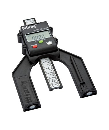Wixey WR25 Mini Digital Height Gauge with Fractions WIXWR25