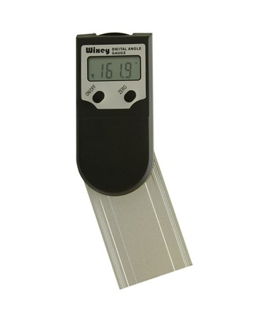 Wixey WR400 Digital Protractor Readout with Set Miter, 3 Inches