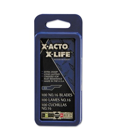 No. 16 Scoring Blade Refill for X-Acto Knife XR-216
