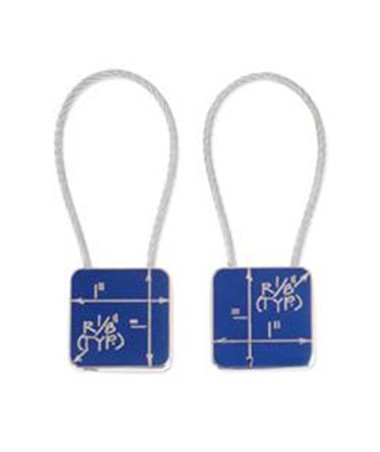 Blueprint Key Ring ZCB01KR